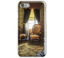 Victorian Living Room Photograph iPhone Case/Skin