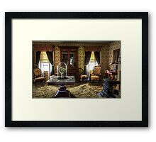 Victorian Living Room Photograph Framed Print