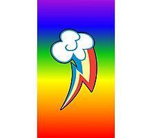 Rainbow Dash Cutie Mark Photographic Print
