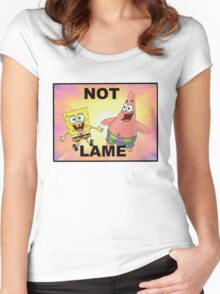 Not Lame Women's Fitted Scoop T-Shirt
