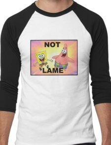 Not Lame Men's Baseball ¾ T-Shirt