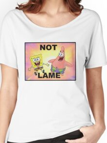 Not Lame Women's Relaxed Fit T-Shirt