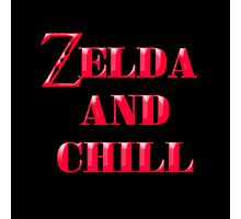 Zelda And Chill Photographic Print