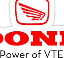 Hoonda (Honda) Power of VTEC Yo Sticker/Design Sticker