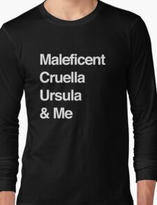 Once Upon a Time Villans Long Sleeve T-Shirt
