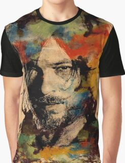 Watercolor Daryl Graphic T-Shirt