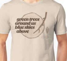 Green Trees Record (fcb) Unisex T-Shirt