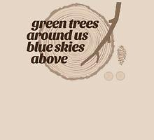 Green Trees Record (fcb) Unisex T-Shirt