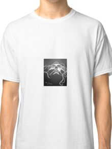 Black and white face Classic T-Shirt