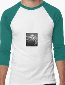 Black and white face Men's Baseball ¾ T-Shirt