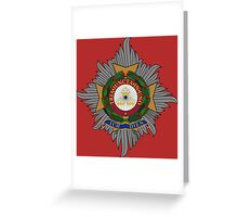 Order of the Bath - Military Grand Cross Star Greeting Card