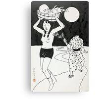 Toshi Saeki - Running Canvas Print