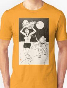 Toshi Saeki - Running T-Shirt