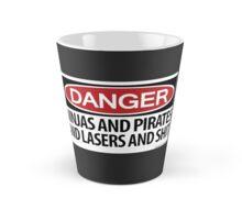 Ninjas and Pirates and Lasers, Oh My! Tall Mug