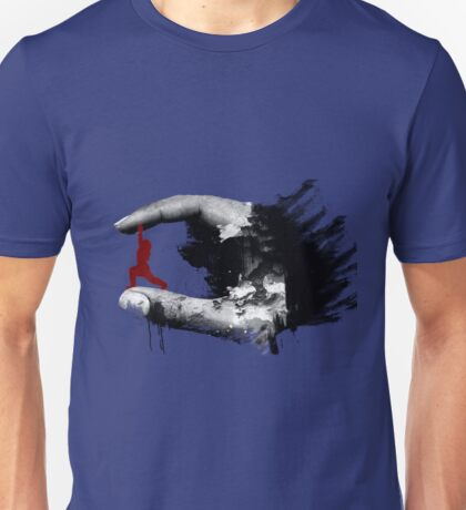 Fitness at your fingertips Unisex T-Shirt