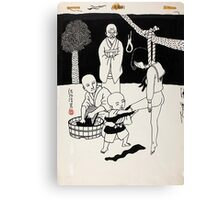 Toshio Saeki - Hung Canvas Print
