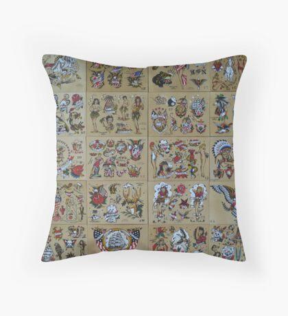 Sailor Jerry 20 Throw Pillow
