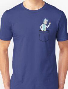 Rick Bird Pocket. Unisex T-Shirt