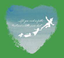 faith and pixie dust Baby Tee