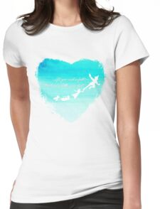 faith and pixie dust Womens Fitted T-Shirt