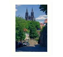 Castle & Cathedral, Meissen, Saxony Art Print