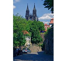 Castle & Cathedral, Meissen, Saxony Photographic Print