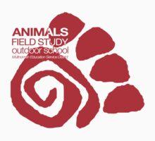 Animals Field Study One Piece - Long Sleeve