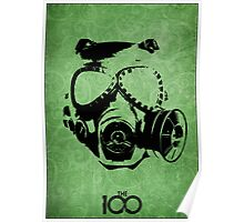 The 100 - Gask Mask Mt Weather Poster