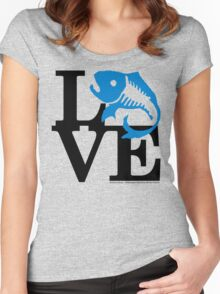 Water Field Study Love (fcb) Women's Fitted Scoop T-Shirt