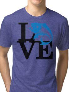 Water Field Study Love (fcb) Tri-blend T-Shirt