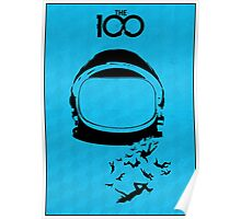 The 100 - Space Helmet Poster