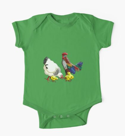Chickens One Piece - Short Sleeve
