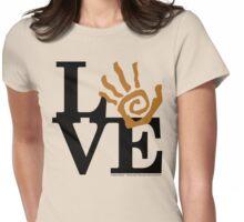 Soil Field Study Love (fcb) Womens Fitted T-Shirt