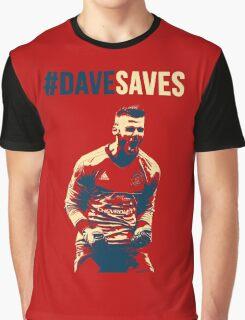 David De Gea - Dave Saves Graphic T-Shirt