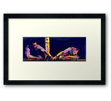Lift Yourself Up Framed Print
