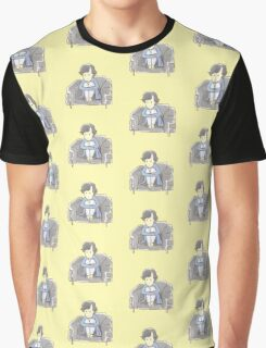 Sulky Sherlock - yellow Graphic T-Shirt