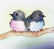 Love Birds  by Ali Brown