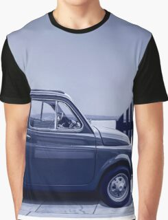 Italian car Fiat 500 Graphic T-Shirt