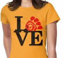 Animals Field Study Love (fcb) Womens Fitted T-Shirt