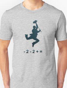 - 2 - 2 + = / Chim-Chim Cher-ee Unisex T-Shirt