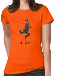 - 2 - 2 + = / Chim-Chim Cher-ee Womens Fitted T-Shirt