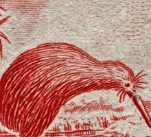 """1936 New Zealand Kiwi Stamp"" Sticker"