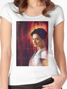 Irene Adler Women's Fitted Scoop T-Shirt