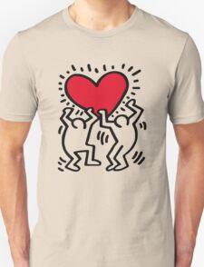 Keith Haring Love Unisex T-Shirt