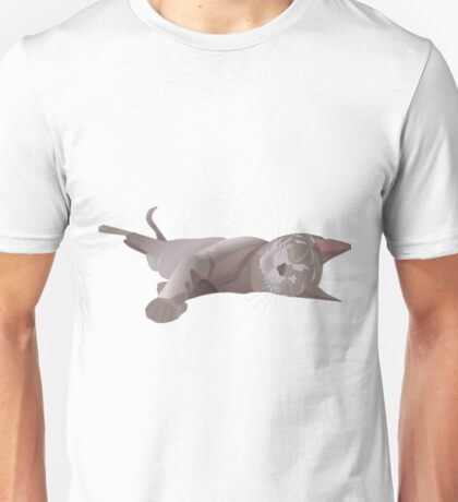 Sleepy cat Unisex T-Shirt