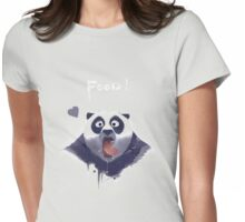 Kung Fu panda Po Love Food ! Womens Fitted T-Shirt
