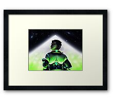 Barren Moon Framed Print