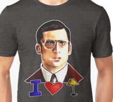 I Love Lamp: Brick Tamland's Awesome Quote From The Movie Anchorman; Hand-Drawn Illustration  Unisex T-Shirt
