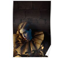 Beautiful porcelain doll Poster