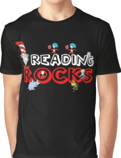 Reading Rocks Graphic T-Shirt